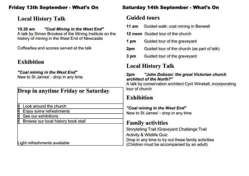 St James HODs 2013 revised leaflet 2
