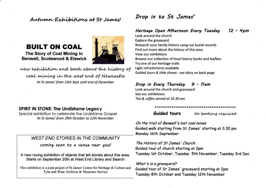 st james autumn 2013 programme 2