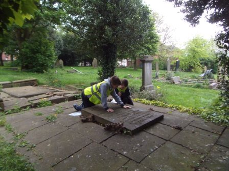 exploring buddle grave