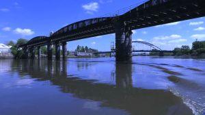 Old Newburn Rail Bridge